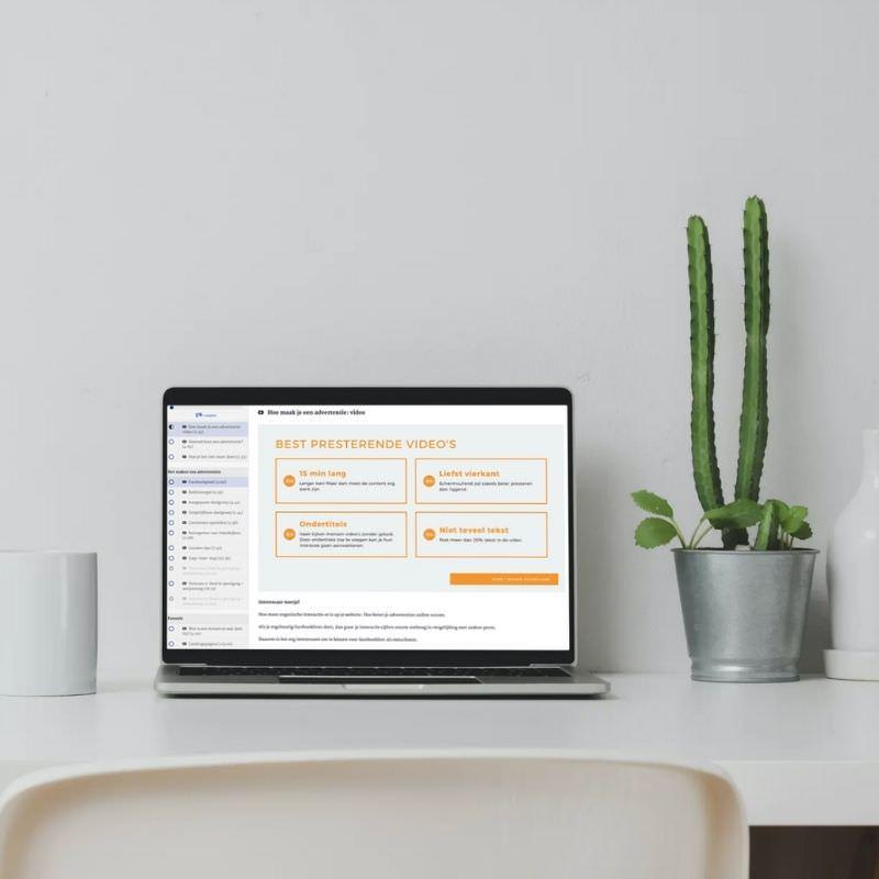 facebook adverteren marketing workshop cursus online nederlands kim de graeve passief inkomen vrijheid teveel werk5