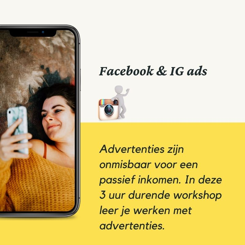 facebook en instagram advertenties workshop kim de graeve plantrekkers workshops online