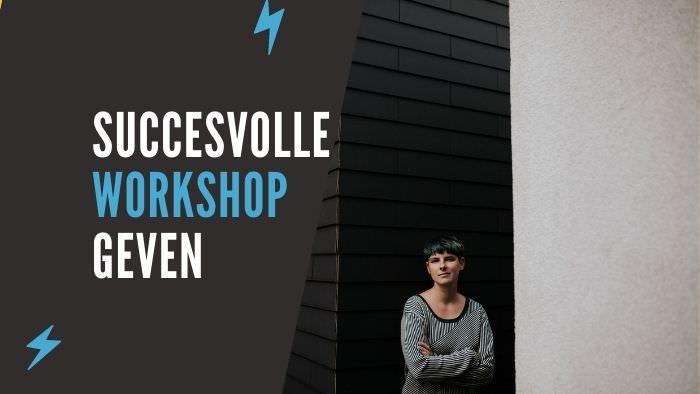 succesvolle workshop geven cursus online productiviteit workflow workshop fotograeve ondernemers passief inkomen omzet winst ideale klant niches