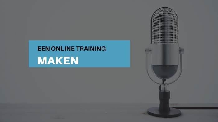 online training maken passief inkomen cursus online productiviteit workflow workshop fotograeve ondernemers passief inkomen omzet winst ideale klant niches