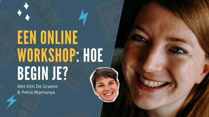 online cursus Petra wamanya cursus online productiviteit workflow workshop kim de graeve ondernemers passief inkomen omzet winst ideale klant niches