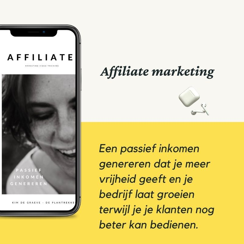 workshop affiliate marketing workshop cursus online nederlands kim de graeve passief inkomen vrijheid teveel werk1
