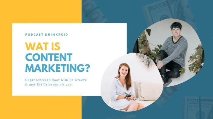 content marketing cursus online productiviteit workflow workshop kim de graeve ondernemers passief inkomen omzet winst ideale klant niches