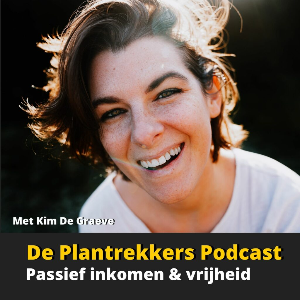 een passief inkomen vrijheid ondernemen workshop online cursussen kim de graeve affiliate print on demand podcast