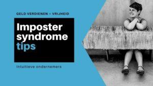 imposter syndrome tips overweldigd ondernemen cursus online productiviteit workflow workshop fotograeve ondernemers passief inkomen omzet winst ideale klant niches
