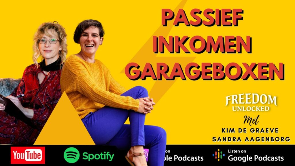 passief inkomen dankzij garageboxen kim de graeve Sandrea aagenborg nederland belgie
