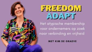 freedom adapt membership Kim de graeve